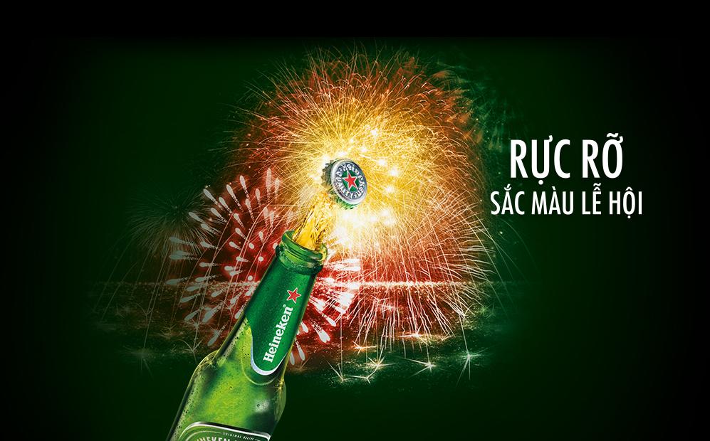 Rực rỡ sắc màu lễ hội cùng Heineken