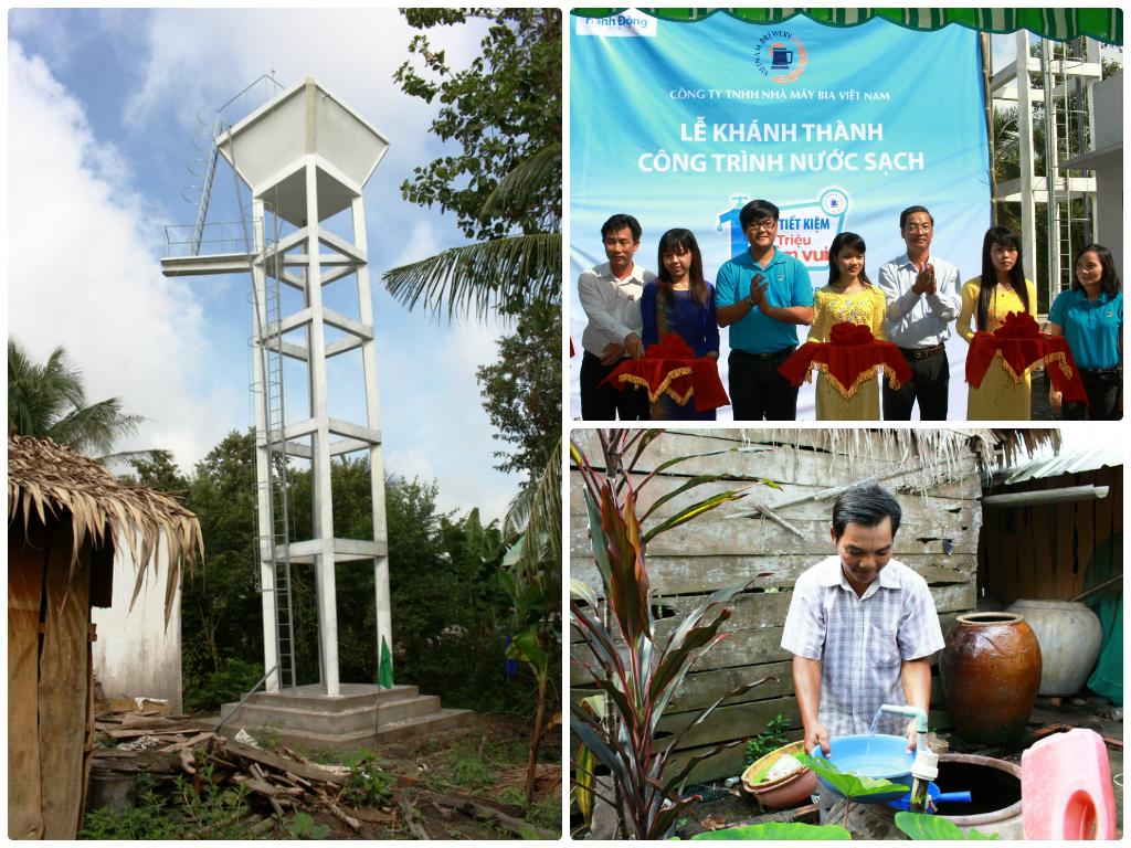 VBL khánh thành công trình nước sạch tại Tiền Giang