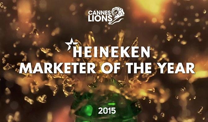 Heineken vinh dự được Cannes Lions công nhận là Nhà Tiếp Thị Sáng Tạo Nhất của Năm 2015
