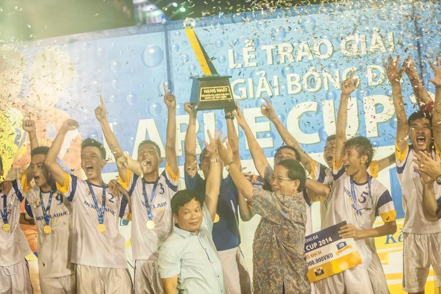 Siêu Cúp Larue 2014: Kim Toàn FC xuất sắc giành chức ngôi vô địch