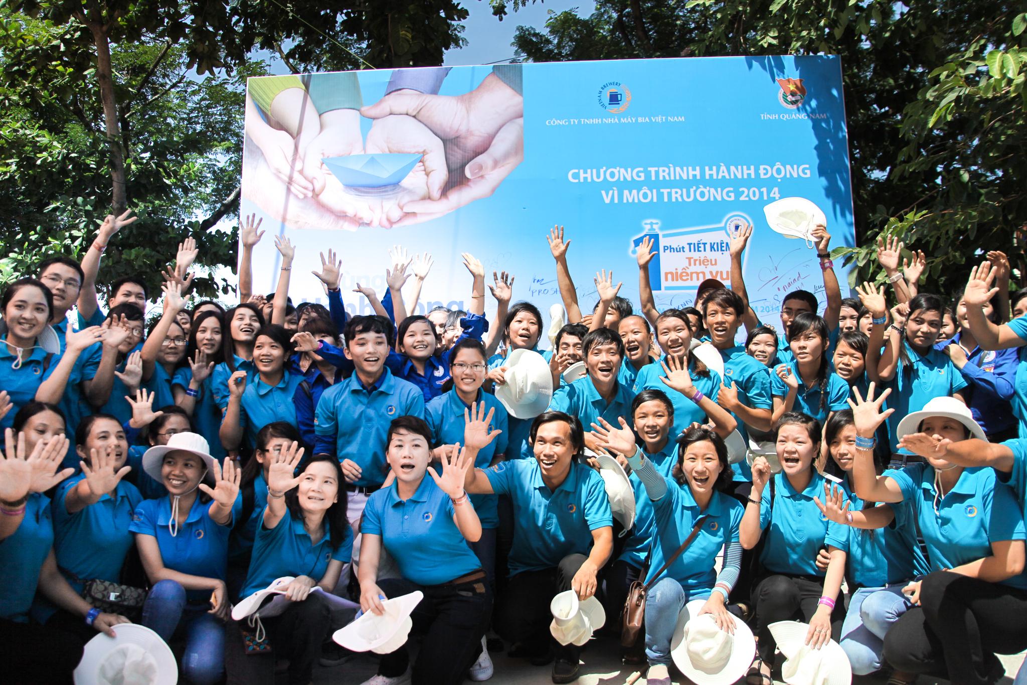 Quảng Nam cùng hành động vì triệu niềm vui nước sạch