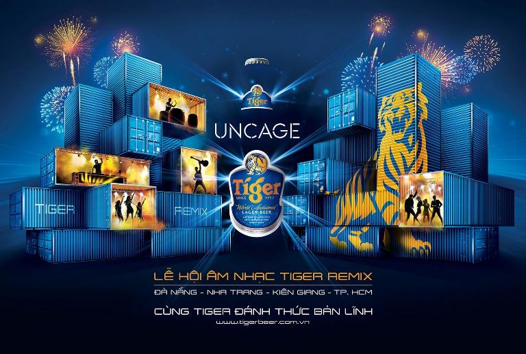 Độc đáo lễ hội âm nhạc Tiger Remix 2015