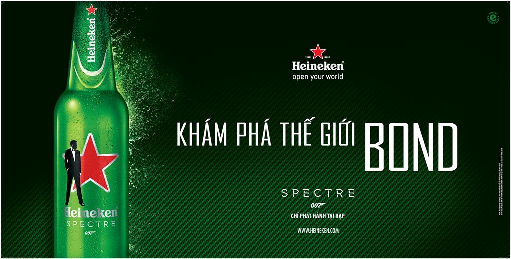Cùng Heineken khám phá thế giới của James Bond