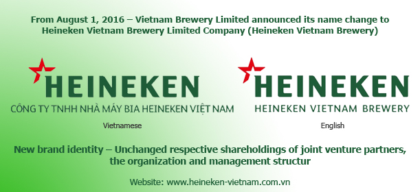 Vietnam Brewery Limited Announces Name Change And Adopts New Branding