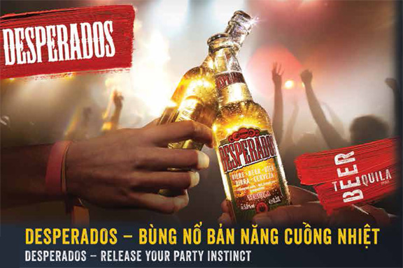 Desperados – Release your party instinct