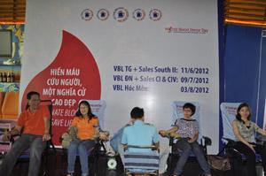 VBL tổ chức ngày hội Hiến máu Nhân đạo